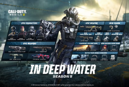 In Deep Water: The Naval-Themed Call Of Duty Mobile Season 5