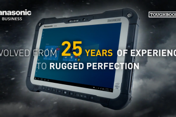 Panasonic TOUGHBOOK G2: A Freshly Launched Rugged Tablet