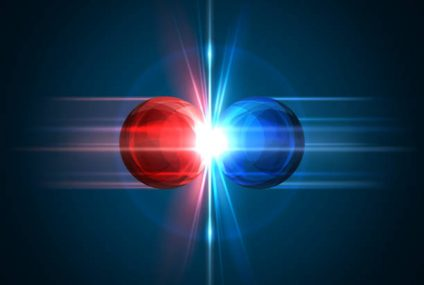 Particles Were Observed Switching Between Matter And Antimatter