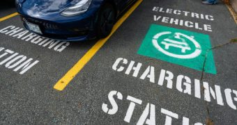 Tesla CEO Explains How Non-Tesla EVs Will Use Superchargers