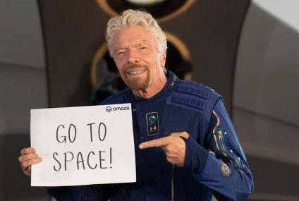 Virgin Galactic Sweepstakes Offers A Free Ticket To Space