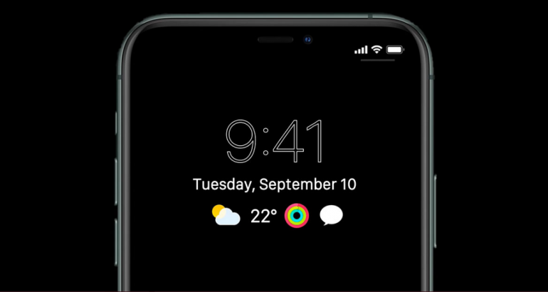 iPhone 13 Could Have An Apple Watch-Inspired Feature: Always-On Display's Details