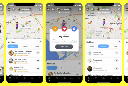 Snapchat's Map Now Tracks Your Favorite Spots And Suggests New Ones