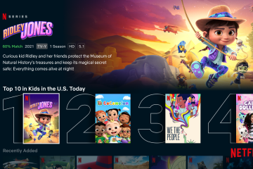 Netflix Adds More Features For Easier Kids Programming