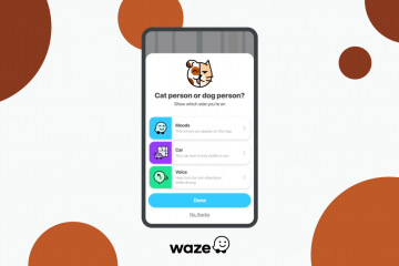 Waze Surprises Its Users With A Limited-Time Cat And Dog Themed Update