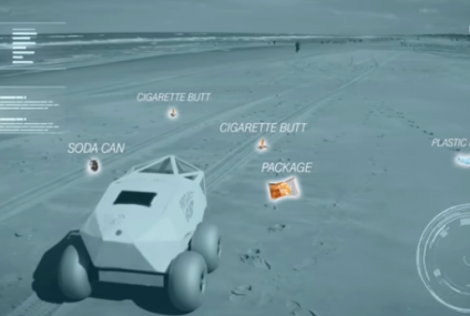 BeachBot Uses AI to Save Shores from Cigarette Butts