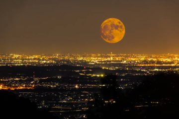 """NASA — """"Wobble"""" In The Moon's Orbit MayCause Immense Flooding On Earth"""