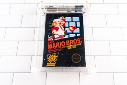 Sealed Copy of Super Mario Bros. Sold For A World Record Of $2 Million