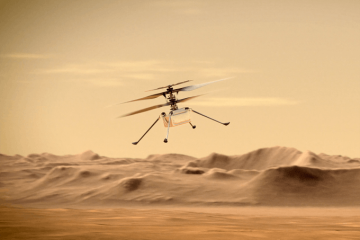 NASA Ingenuity Helicopter Wings Tough 12th Mars Flight