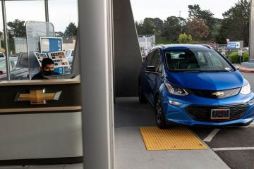 GM Chevy Bolt EVs Recalled For Third Time Due To Potential Battery Defects
