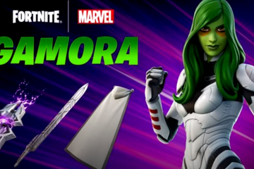 Marvel Hero Gamora of Guardians Of The Galaxy To Join Fortnite