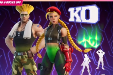 Fortnite's Cammy and Guile to Strike Item Shop in Street Fighter's Second Crossover