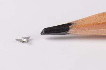 Smallest-Ever Microfliers The Size Of A Grain Of Sand