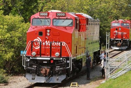 Pittsburgh Hosts The World's First Battery-Electric Freight Train