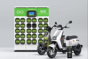 Gogoro Introduces Their Battery-Swapping Stations In China